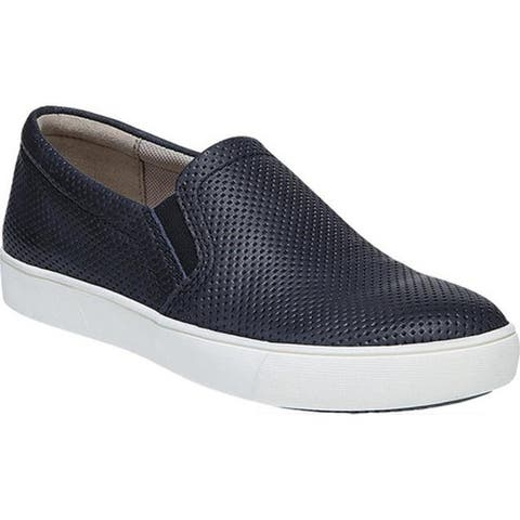 Naturalizer Women's Marianne Slip-on Sneaker Inky Navy Leather