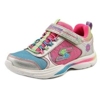 Skechers Lite Kicks II Gamer Girl Youth Synthetic Multi Color Running Shoe