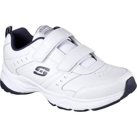Skechers Men's Haniger Casspi Training Sneaker White/Navy
