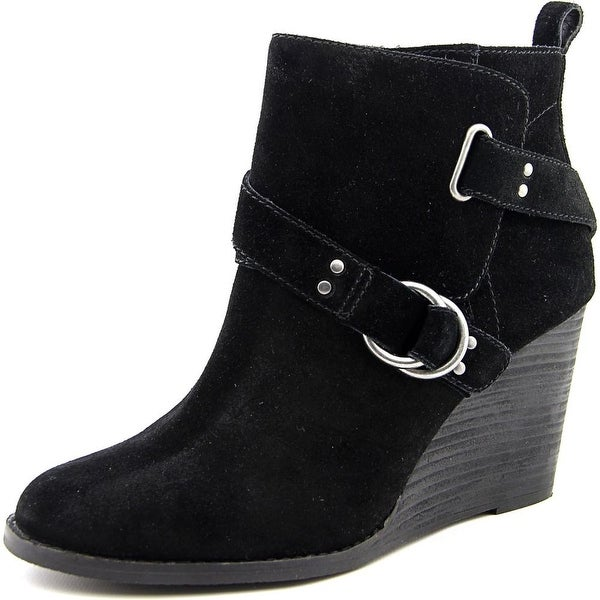 Lucky Brand Yerik Women Black Boots