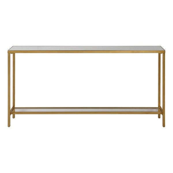 "60"" Hayley Gold Console Table - N/A"