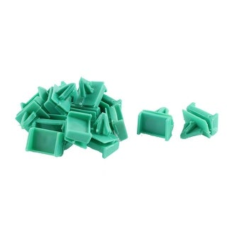15 Pcs Green Plastic Interior Door Buckle Mat Clip for Buick  sc 1 st  Overstock & 10 Pcs Green Plastic Interior Door Buckle Mat Fastener Clip for ...