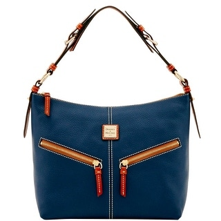 Dooney & Bourke Pebble Grain Mary (Introduced by Dooney & Bourke at $268 in Jun 2016) - Midnight Blue