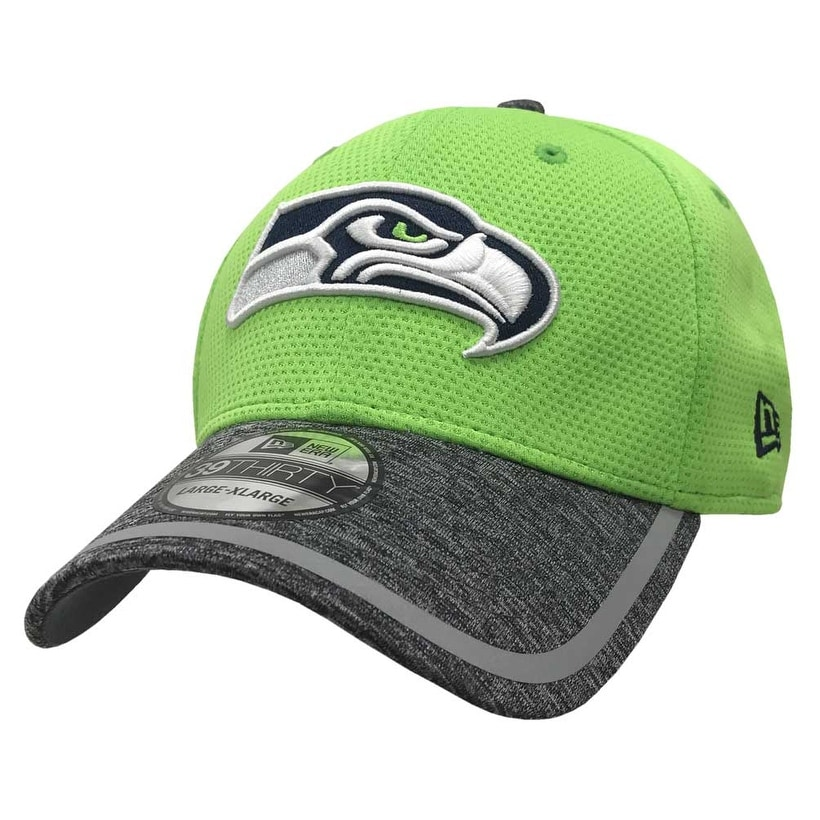 online retailer 9b633 444a3 Shop New Era Seattle Seahawks Baseball Cap NFL On Field Training 39THIRTY  11282647 - Free Shipping On Orders Over  45 - Overstock - 17743825