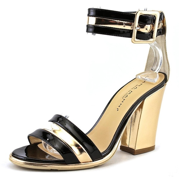Lara Manni 054400 Women Black/Gold Pumps