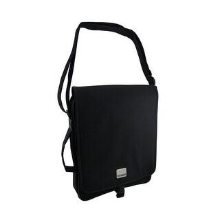Smash Black Vertical Padded Laptop Briefcase Bag
