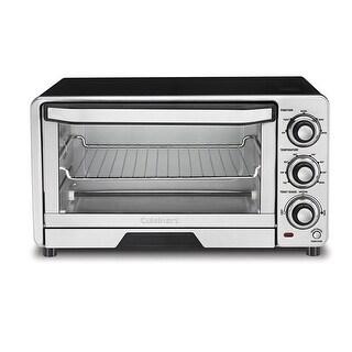 Cuisinart TOB-40N Custom Classic Toaster Oven Broiler, Black & Stainless