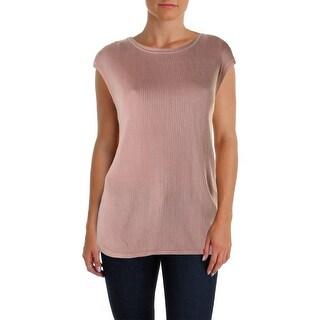 Calvin Klein Womens Pullover Sweater Ribbed Knit Jewel Neck|https://ak1.ostkcdn.com/images/products/is/images/direct/7c4e544c92372333b6eb5fc309450e7cd8f1f319/Calvin-Klein-Womens-Ribbed-Knit-Jewel-Neck-Pullover-Sweater.jpg?_ostk_perf_=percv&impolicy=medium
