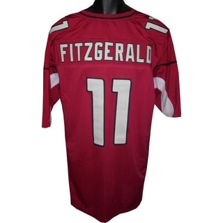 Larry Fitzgerald unsigned Red Custom Stitched Pro Style Football Jersey XL
