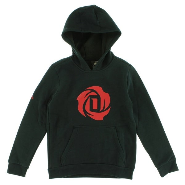 Shop Adidas Boys D Rose Logo Hoodie Black - Black Red - Free Shipping On  Orders Over  45 - Overstock - 22694196 f6b2bb3cb96f