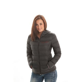 Cowgirl Tuff Western Jacket Womens Insulated Nylon Black F00236