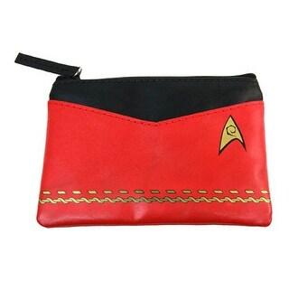 Star Trek Red Uniform Coin Purse