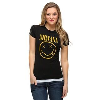 Womens Nirvana Smile T-Shirt