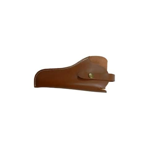 """Allen Holster Red Mesa Leather Pistol Hip Carry 9"""" Brown"""