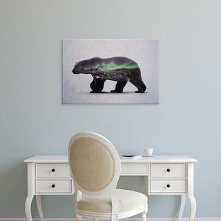 Easy Art Prints Andreas Lie's 'Polar Bear' Premium Canvas Art