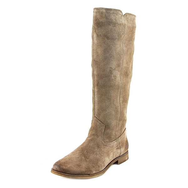 Splendid Penelope Women Round Toe Suede Tan Knee High Boot