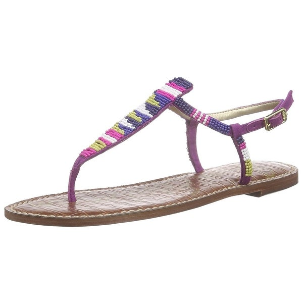 77edff34c672 Shop Sam Edelman Women s Gail Sandal - sailor blue chartreuse glow ...