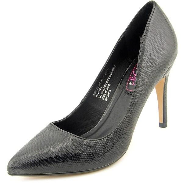 XOXO Filomena Women Pointed Toe Synthetic Black Heels