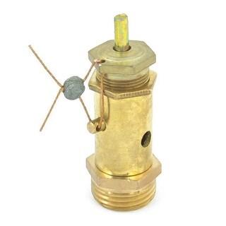 Unique Bargains Air Compressor 18mm Male Thread Pressure Safety Relief Valve