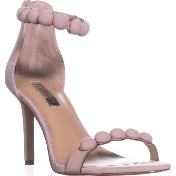 I35 Gabbye Studded Ankle Strap Sandals, Pink Bloom