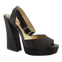 Katy Perry Womens Kp0005-001 Black Pumps Size 9