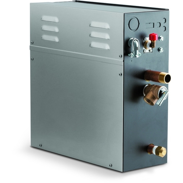 Steamist TSG-12 12 kW Steam Bath Generator with Proportional Steam Release and Intelleligent Control Communication