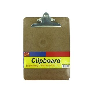 Bulk Buys GG003-48 Sturdy Cork Clipboard - Pack of 48