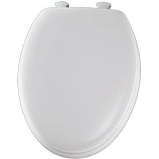Superb Mayfair 144Eca 000 Elongated Molded Wood Toilet Seat W Easy Clean Hinges White Overstock Com Shopping The Best Deals On Toilet Seats Gmtry Best Dining Table And Chair Ideas Images Gmtryco