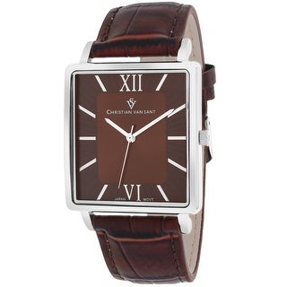 Christian Van Sant Men's Monte Cristo CV8511 Brown Dial Watch