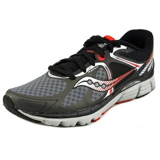 Saucony Kinvara 6 Men Round Toe Synthetic Black Running Shoe