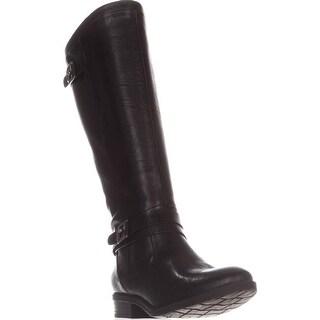 BareTraps Yalina Flat Riding Boots, Black (More options available)