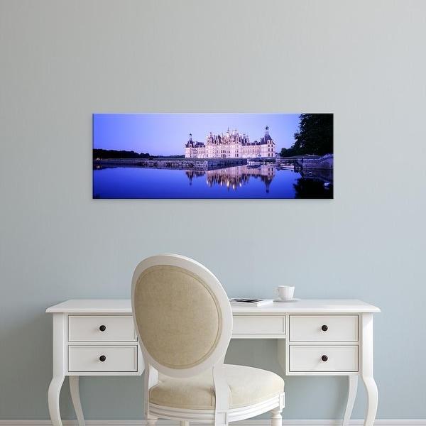 Easy Art Prints Panoramic Images's 'Chateau Royal De Chambord, Loire Valley, France' Premium Canvas Art