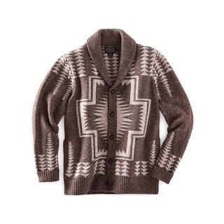 Pendleton Western Sweater Mens TK Harding Shawl Cardigan AF035