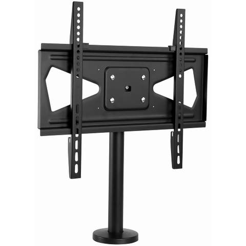 "Mount-It! Bolt Down TV Stand / Mount - Heavy Duty Swivel Table Top TV Mount for Screens 32"" - 55"" ( VESA Compatible)"