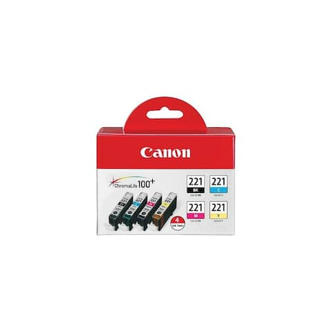 Canon CLI-221 Four Color Pack Ink INK TANK CANON CLI-221 FOUR COLOR