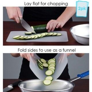 Flexible Chopping Mats 2-pk