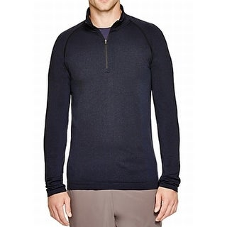 Human Performance Engineering NEW Blue Mens Size 2XL 1/2 Zip Sweater