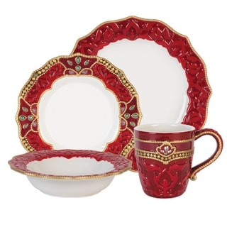 Link to Fitz and Floyd Renissance 4PC Place Setting (Service for 1) Similar Items in Serveware