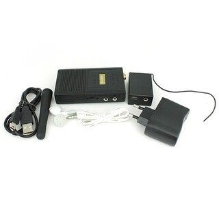 Long Distance Cordless Audio Monitor Bug Gadgets with Wireless Transmission