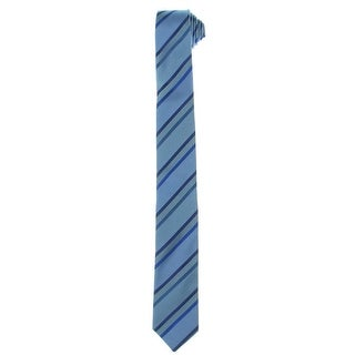 Kenneth Cole Reaction Mens Neck Tie Silk Striped - o/s
