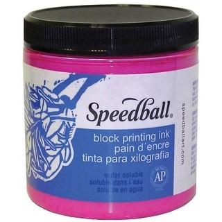 Speedball - Block Printing Ink - Water-Based - 8 oz. Jar - Brown
