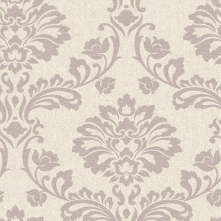 Graham and Brown 20-710  56 Square Foot - Aurora Beige and Champagne - Non-Pasted Vinyl Wallpaper