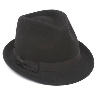 6ff80228589229 Shop Winter Wool Trilby Fedora Hat - Medium/Large - Free Shipping On Orders  Over $45 - Overstock - 20668659