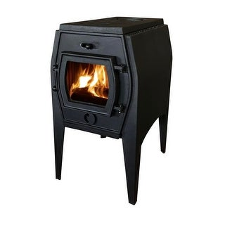 HiFlame Elena HF706A 7KW Antique Small Cast Iron Wood Burning Stove