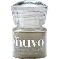 Nuvo Embossing Powder Fine Detail .68Oz-Classic Gold