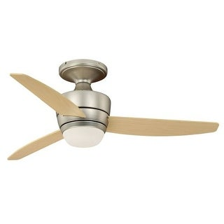"Vaxcel Lighting F0032 Adrian 44"" 3 Blade Indoor Ceiling Fan - Light Kit and Fan Blades Included"