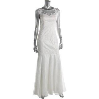 Decode 1.8 Womens Sleeveless Full-Length Wedding Dress