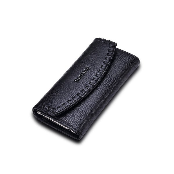 Faux Leather Classic Women's Clutch
