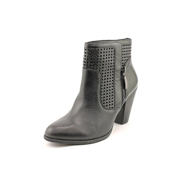 Adam Tucker Women Brandi Perforated Ankle Boots