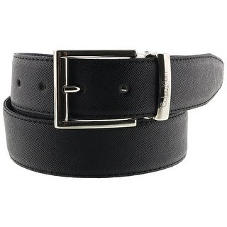 Calvin Klein Reversable NERO BLU Black/Blue Mens Belt